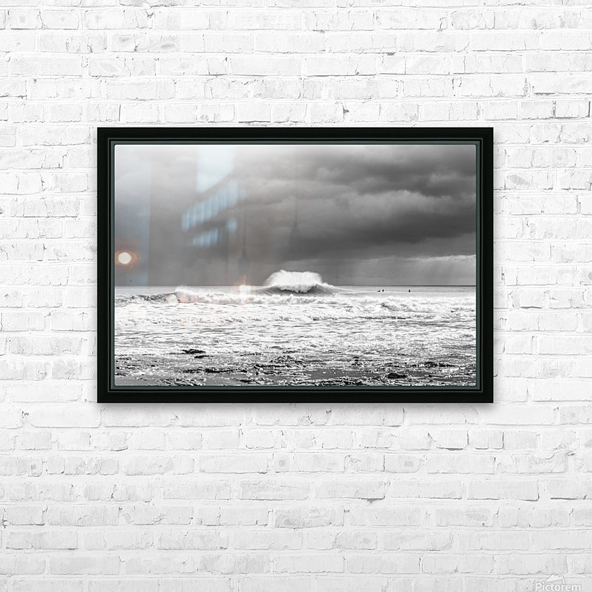ROGUE WAVE HD Sublimation Metal print with Decorating Float Frame (BOX)