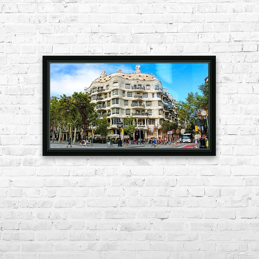 Spain Landscape - Casa Battlo   HD Sublimation Metal print with Decorating Float Frame (BOX)