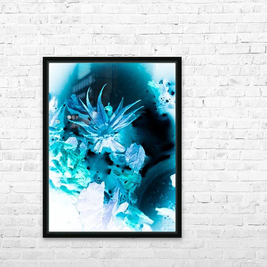 Bleu Bird Ingnite  HD sublimation métal imprimé avec décoration flotteur cadre (boîte)