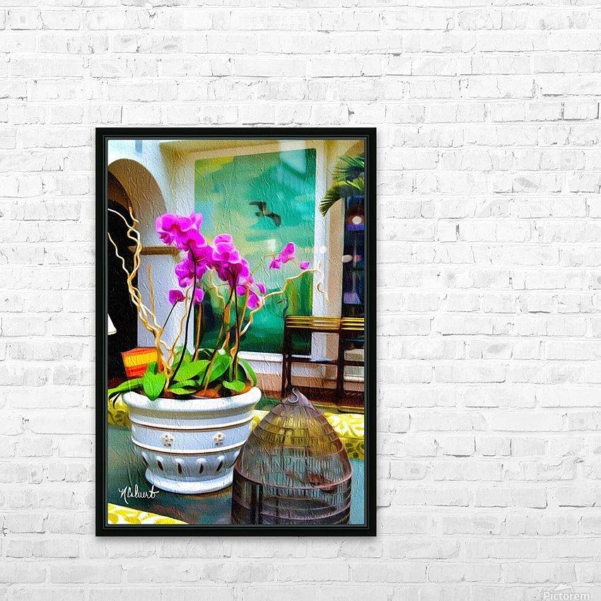Sea Island Solarium HD Sublimation Metal print with Decorating Float Frame (BOX)