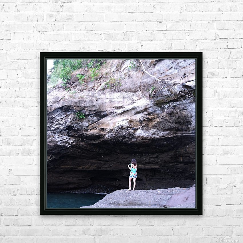 Lets go swimming  HD Sublimation Metal print with Decorating Float Frame (BOX)