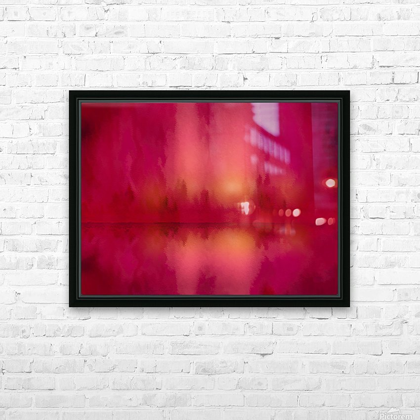 Red Sky at Night HD Sublimation Metal print with Decorating Float Frame (BOX)