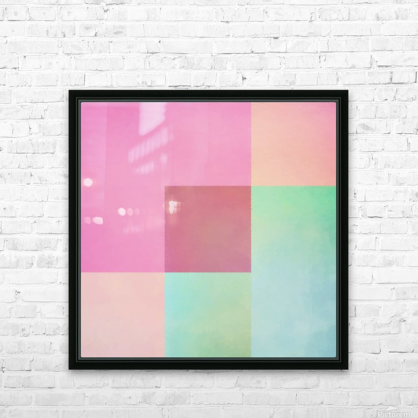 Neapolitan HD Sublimation Metal print with Decorating Float Frame (BOX)