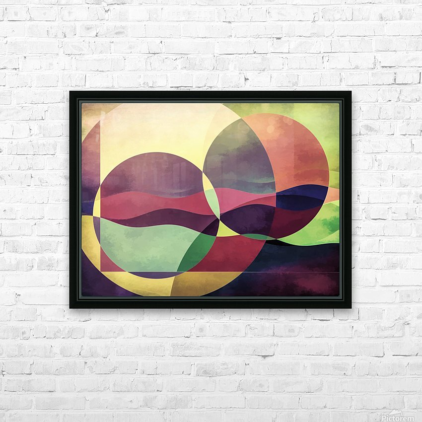 Middle Ground HD Sublimation Metal print with Decorating Float Frame (BOX)