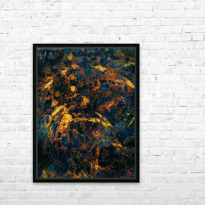 Chasm HD Sublimation Metal print with Decorating Float Frame (BOX)