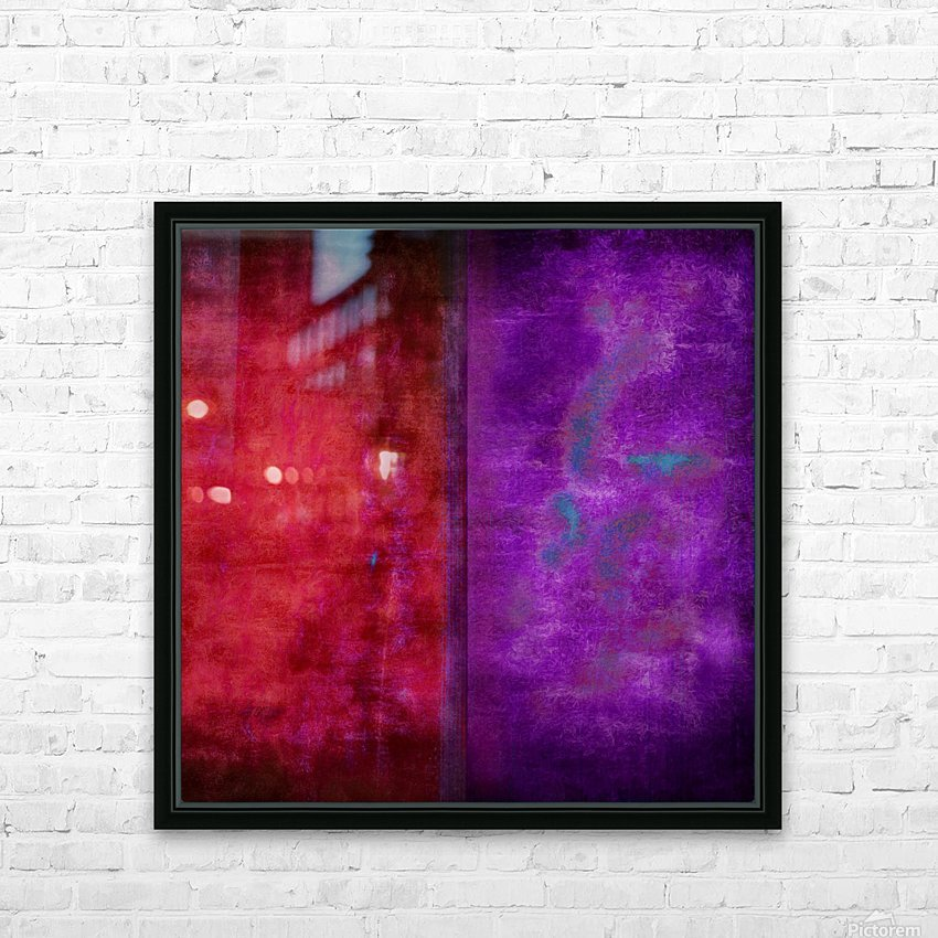 Dualities HD Sublimation Metal print with Decorating Float Frame (BOX)