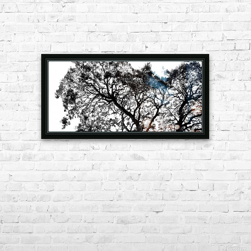 Tree Top HD Sublimation Metal print with Decorating Float Frame (BOX)