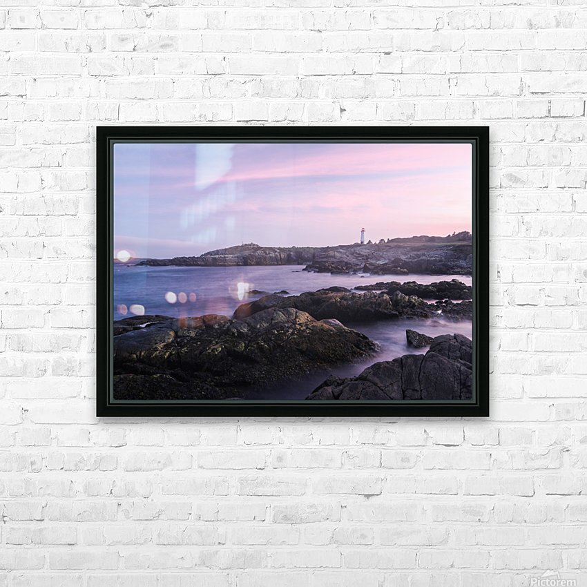 Beacons of lights HD Sublimation Metal print with Decorating Float Frame (BOX)