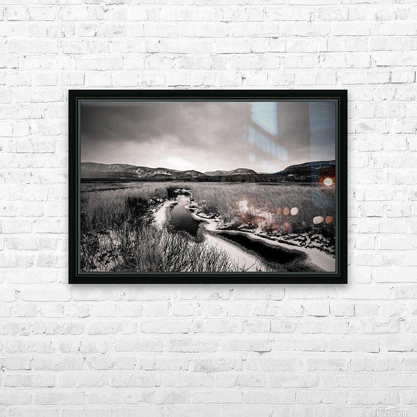Cape Breton Highlands HD Sublimation Metal print with Decorating Float Frame (BOX)