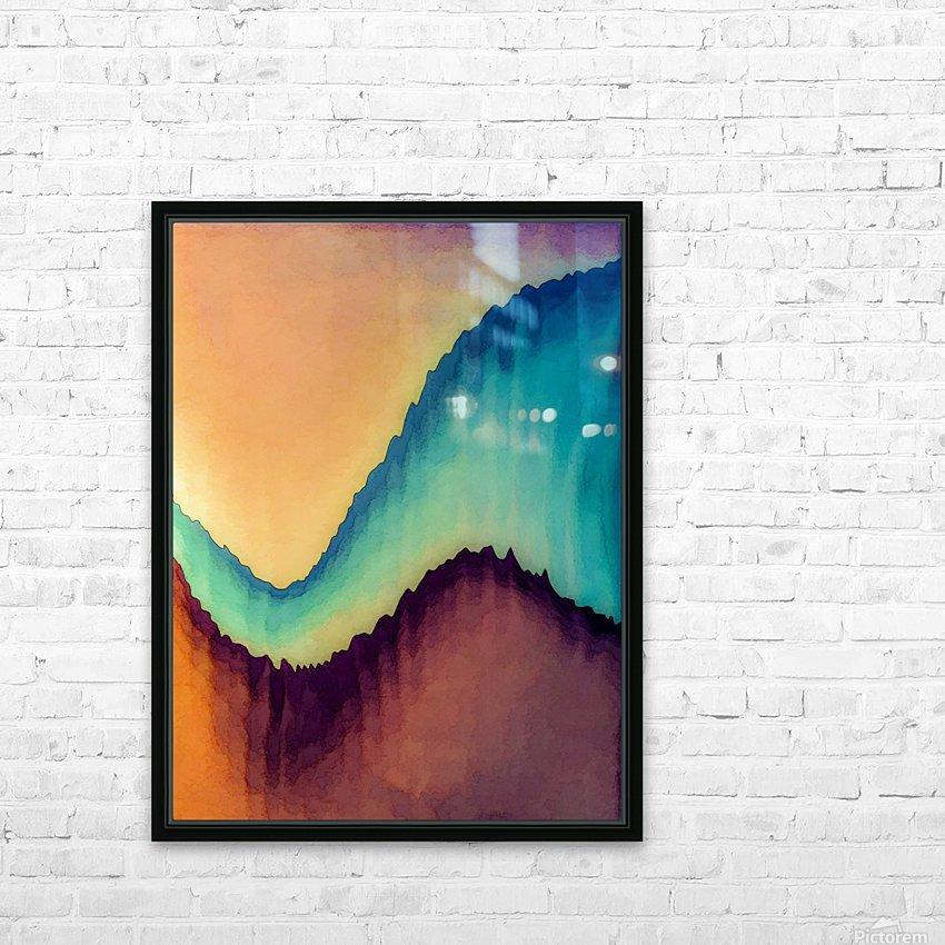Proboscidean Dreamscape HD Sublimation Metal print with Decorating Float Frame (BOX)