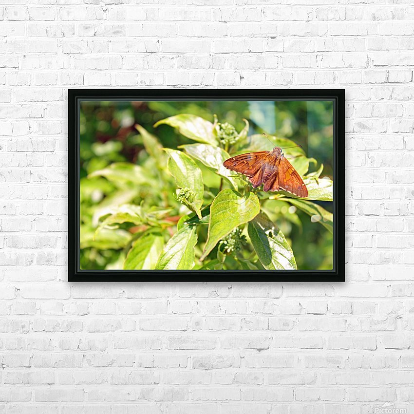 Taking a Break HD Sublimation Metal print with Decorating Float Frame (BOX)