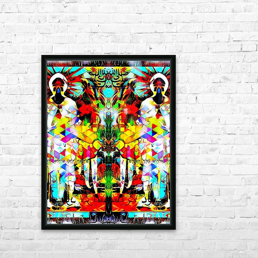 astrally activated HD Sublimation Metal print with Decorating Float Frame (BOX)