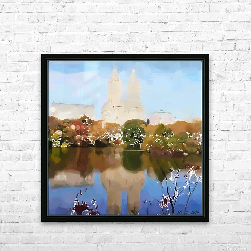 NY_CENTRAL PARK_View 054 HD Sublimation Metal print with Decorating Float Frame (BOX)