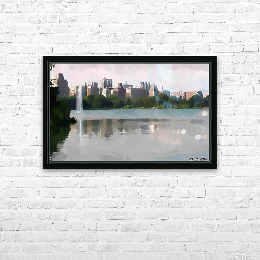 NY_CENTRAL PARK_View 061 HD Sublimation Metal print with Decorating Float Frame (BOX)