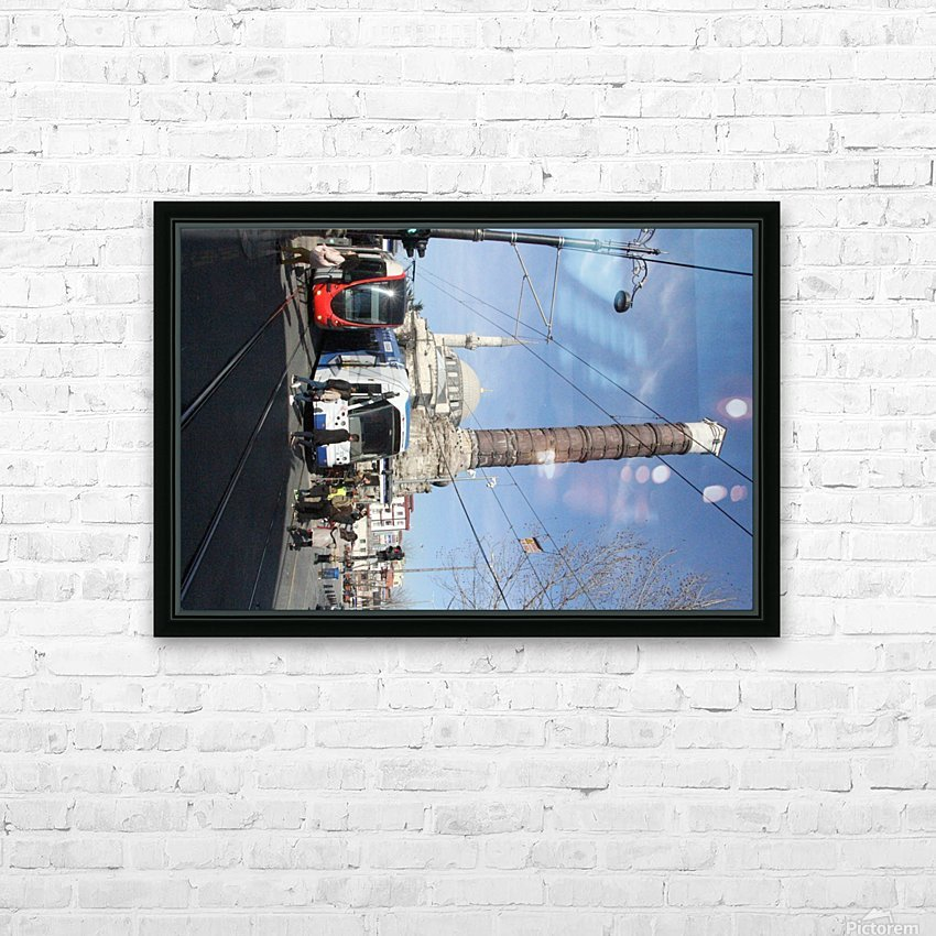 Chemberlitash HD Sublimation Metal print with Decorating Float Frame (BOX)