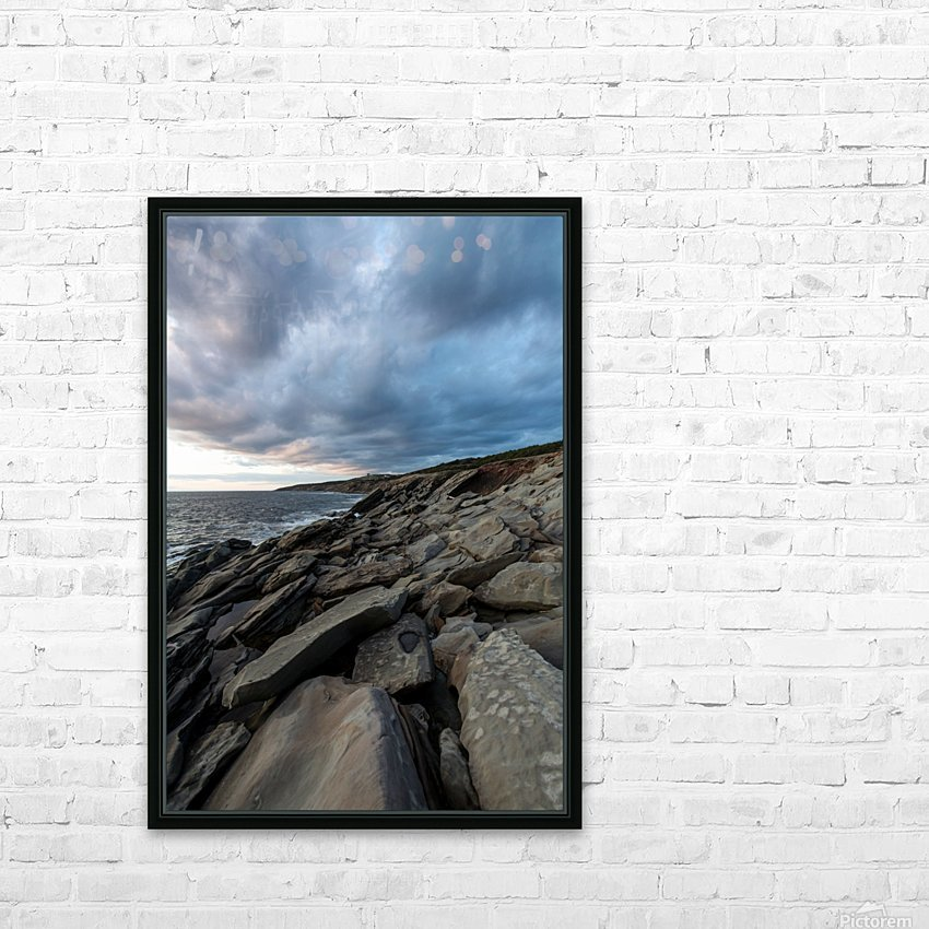 Drama in the sky HD Sublimation Metal print with Decorating Float Frame (BOX)