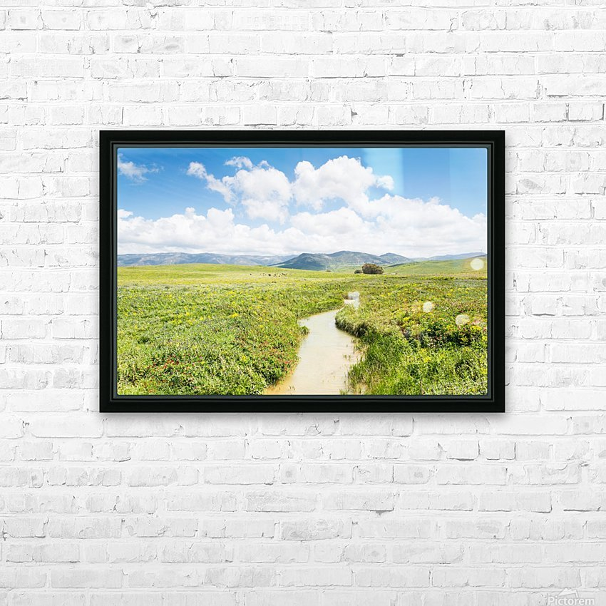 ANDALUSIA HD Sublimation Metal print with Decorating Float Frame (BOX)