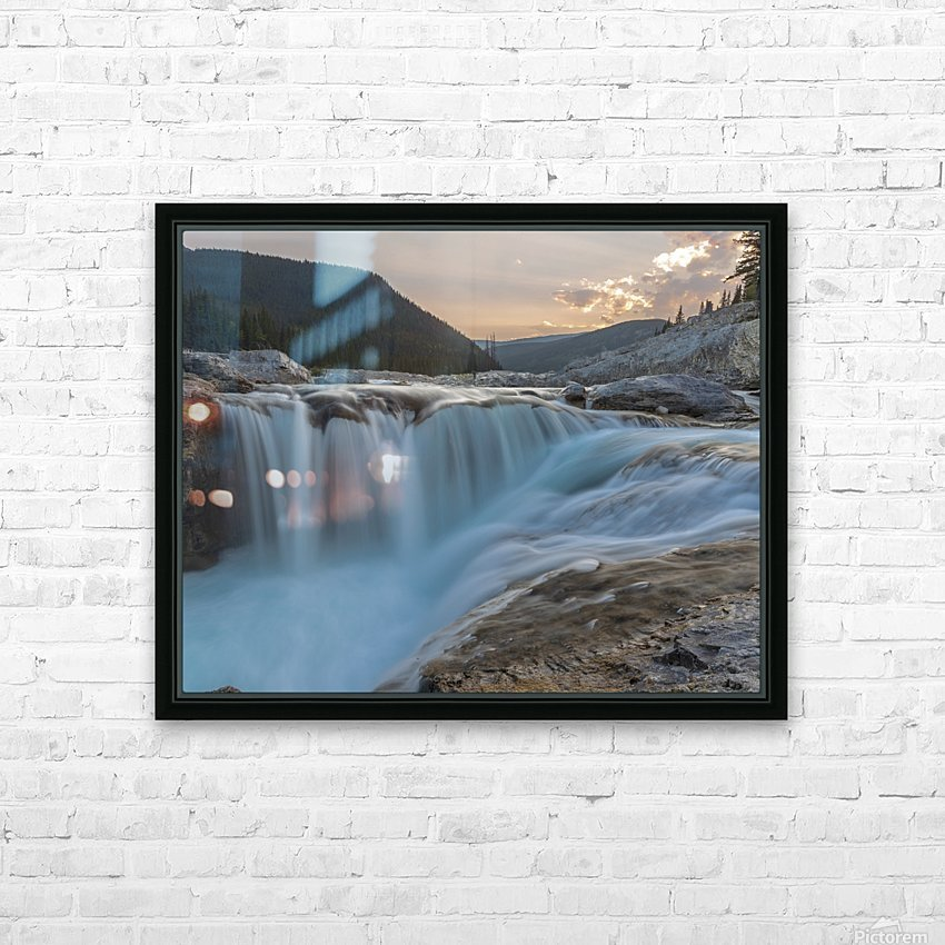 Elbow falls HD Sublimation Metal print with Decorating Float Frame (BOX)