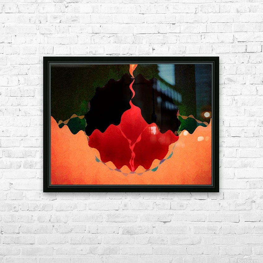 The Rise Of Madame Pele HD Sublimation Metal print with Decorating Float Frame (BOX)
