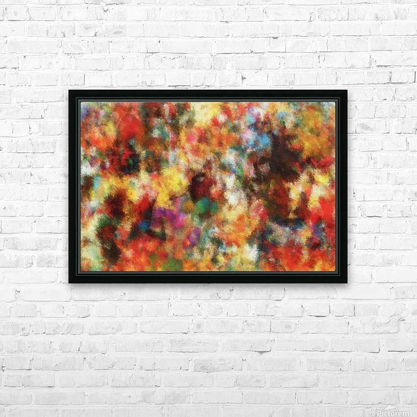 Anemones II HD Sublimation Metal print with Decorating Float Frame (BOX)