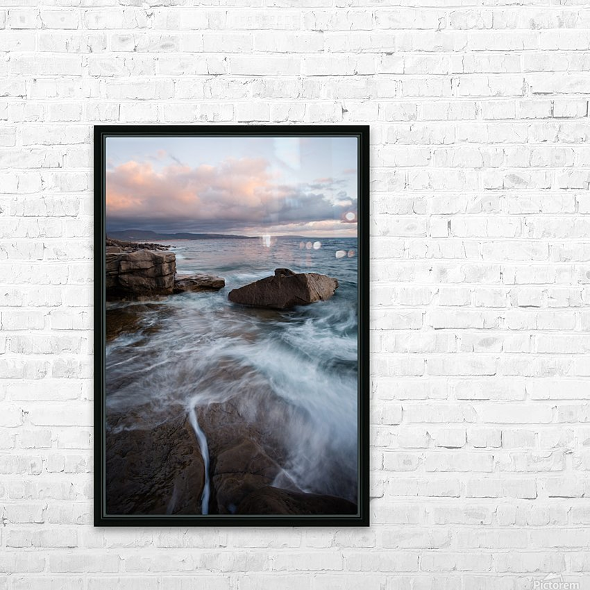Rift HD Sublimation Metal print with Decorating Float Frame (BOX)