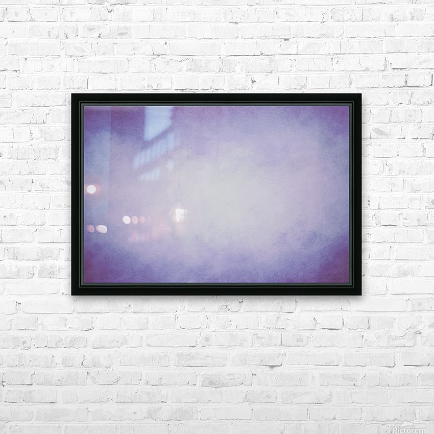 Lilac Mist HD Sublimation Metal print with Decorating Float Frame (BOX)