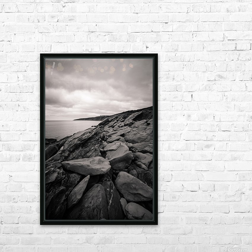 Gloomy days HD Sublimation Metal print with Decorating Float Frame (BOX)