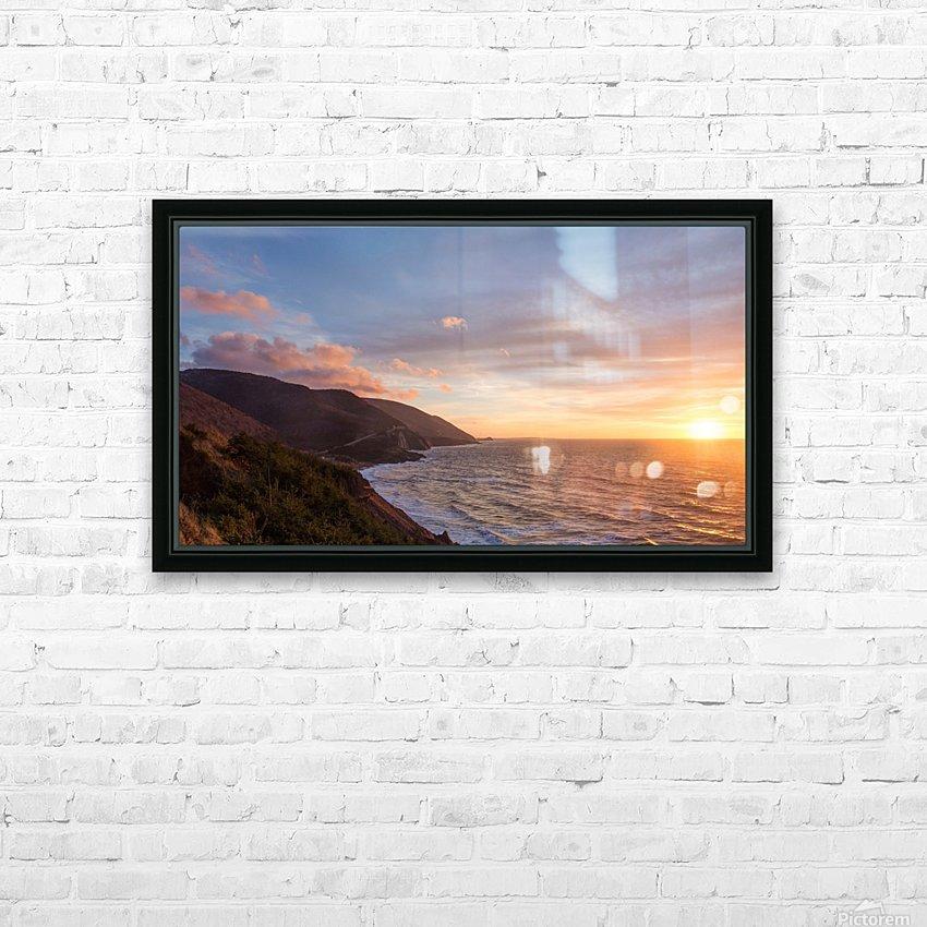 Sunshine Coast HD Sublimation Metal print with Decorating Float Frame (BOX)