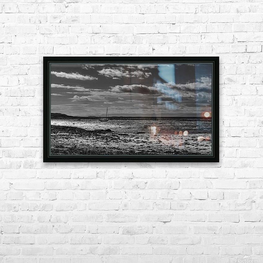 Autumn loneliness HD sublimation métal imprimé avec décoration flotteur cadre (boîte)