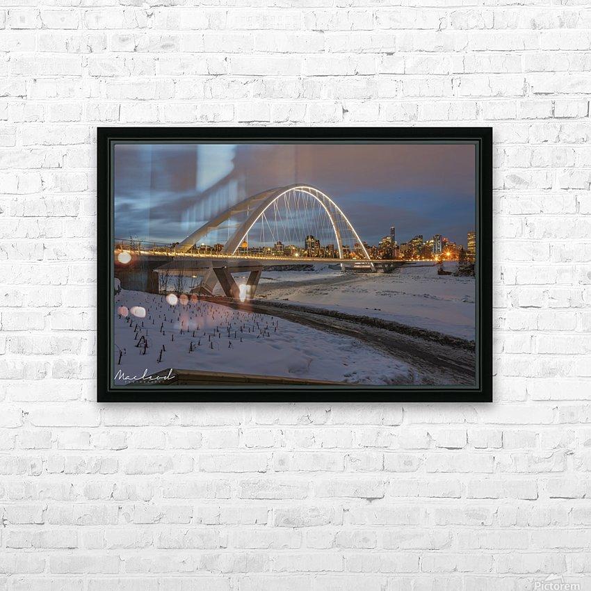 Walterdale_Bridge_NIK9890 HD Sublimation Metal print with Decorating Float Frame (BOX)