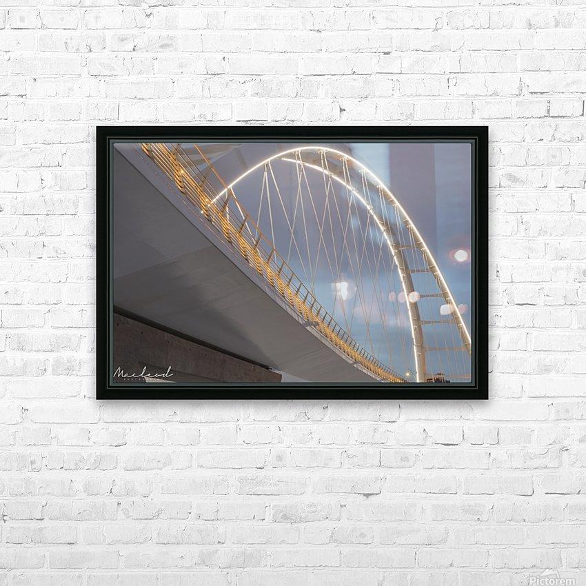 Walterdale_Bridge_NIK9887 HD Sublimation Metal print with Decorating Float Frame (BOX)