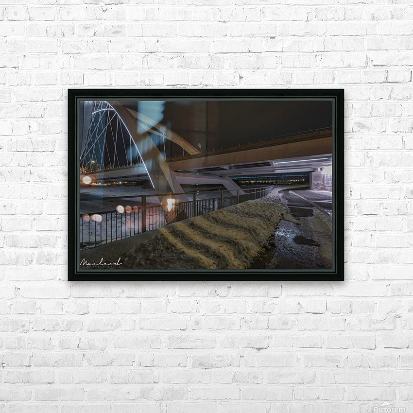 Walterdale_Bridge_NIK9904 HD Sublimation Metal print with Decorating Float Frame (BOX)