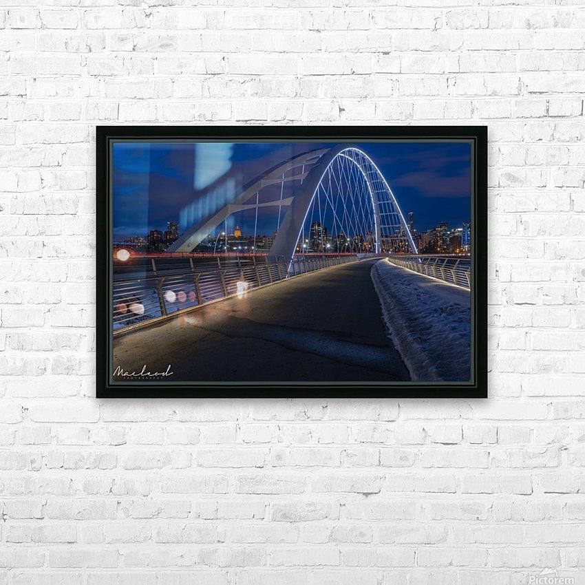 Walterdale_Bridge_NIK9895 HD Sublimation Metal print with Decorating Float Frame (BOX)