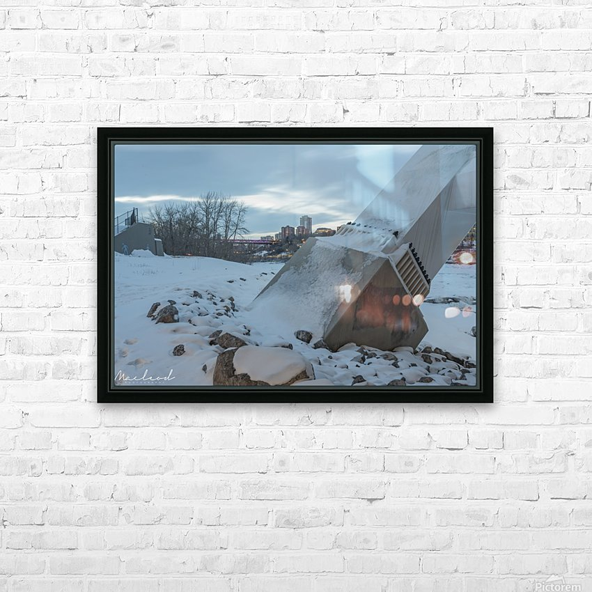 Walterdale_Bridge_NIK9883 HD Sublimation Metal print with Decorating Float Frame (BOX)