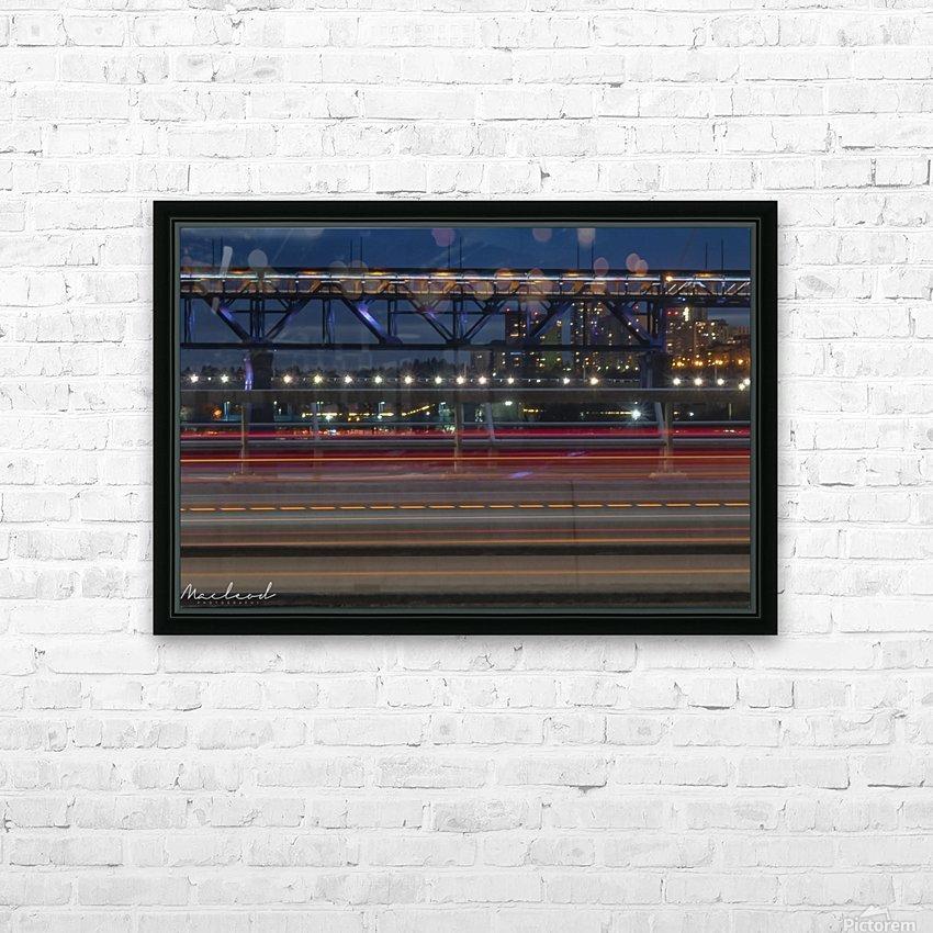Walterdale_Bridge_NIK9897 HD Sublimation Metal print with Decorating Float Frame (BOX)