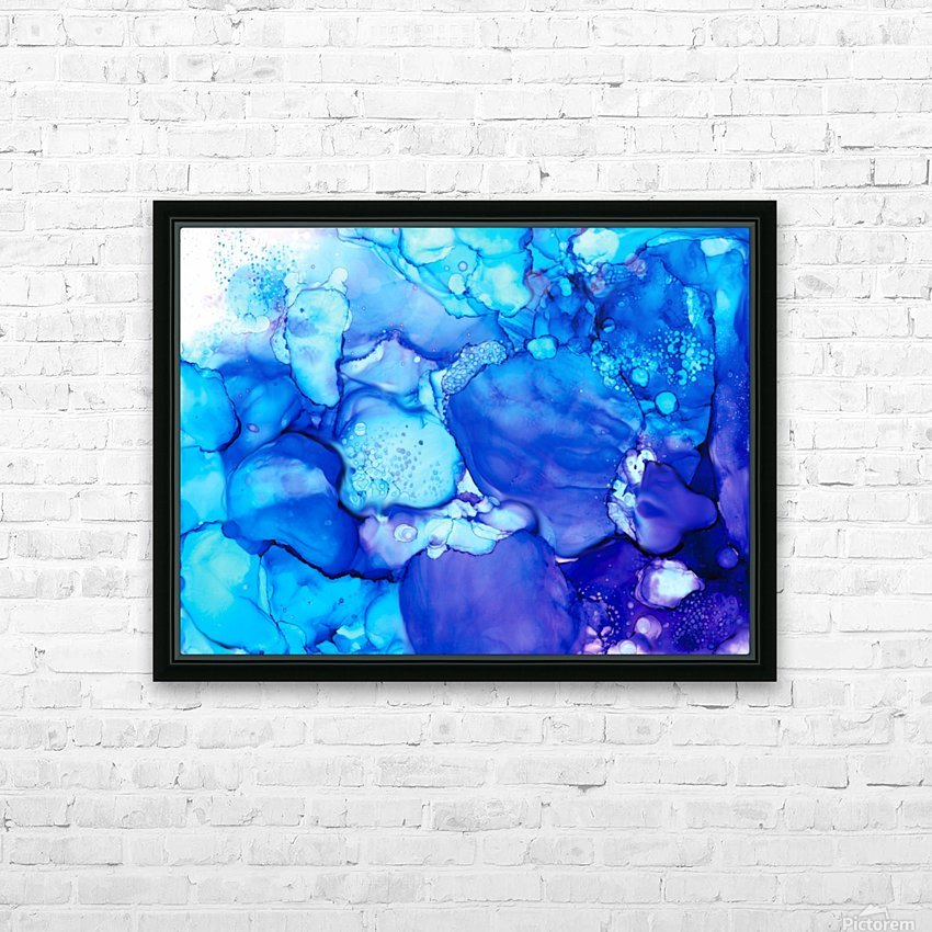 Shades of Sadness HD Sublimation Metal print with Decorating Float Frame (BOX)
