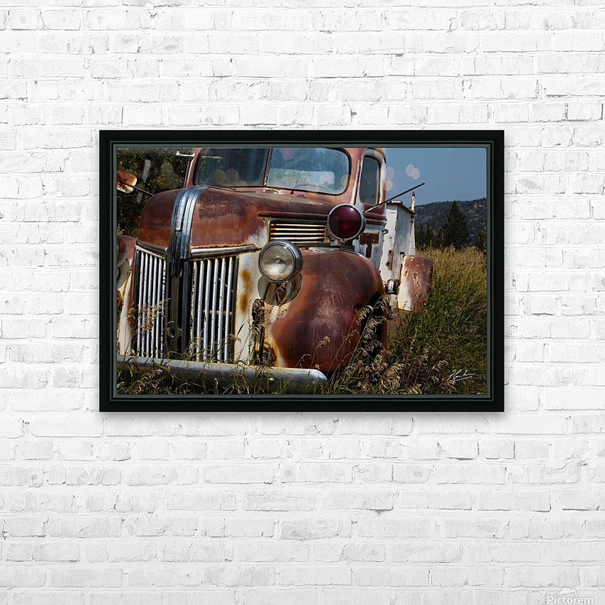 Ford Truck  HD Sublimation Metal print with Decorating Float Frame (BOX)
