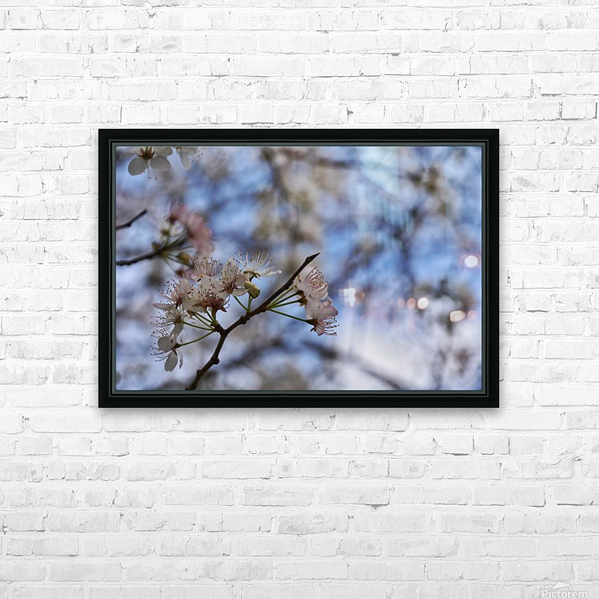 Spring Flowers HD Sublimation Metal print with Decorating Float Frame (BOX)
