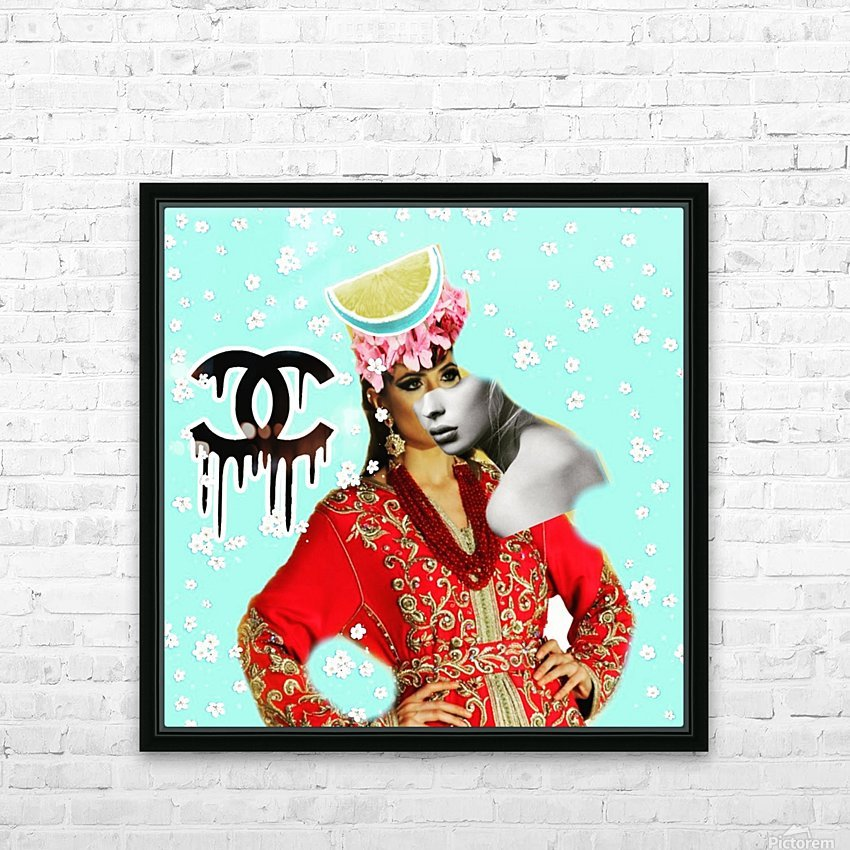 3 HD Sublimation Metal print with Decorating Float Frame (BOX)