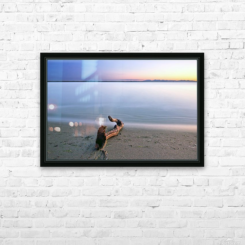 Serene Sunset HD Sublimation Metal print with Decorating Float Frame (BOX)