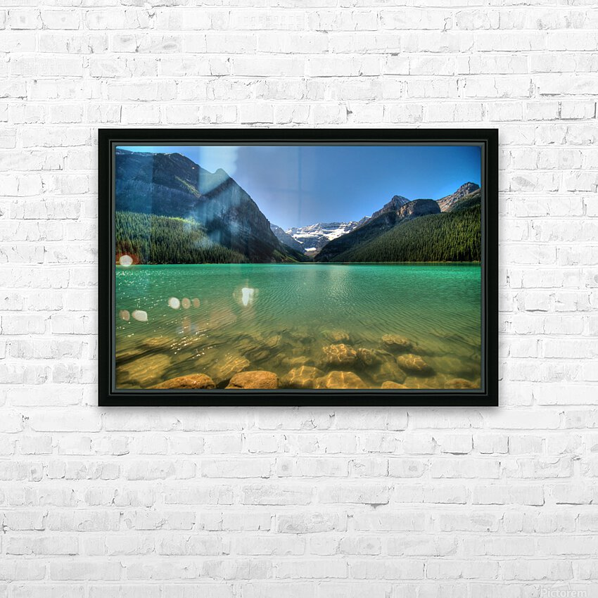 Banff HD Sublimation Metal print with Decorating Float Frame (BOX)
