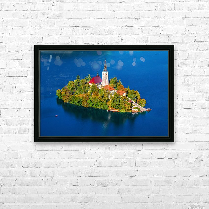 BLED 03 HD Sublimation Metal print with Decorating Float Frame (BOX)