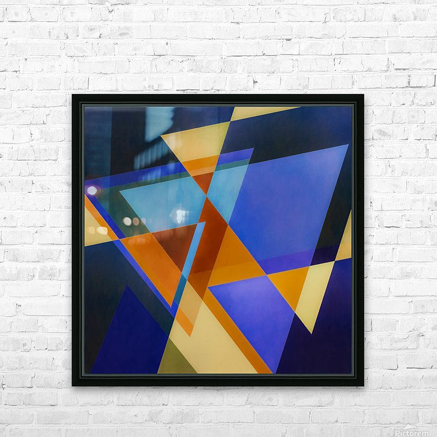 A Flight of Arrows HD Sublimation Metal print with Decorating Float Frame (BOX)