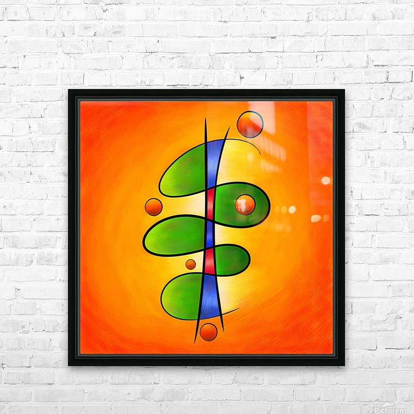 Tessanimia - colourful spring flower HD Sublimation Metal print with Decorating Float Frame (BOX)