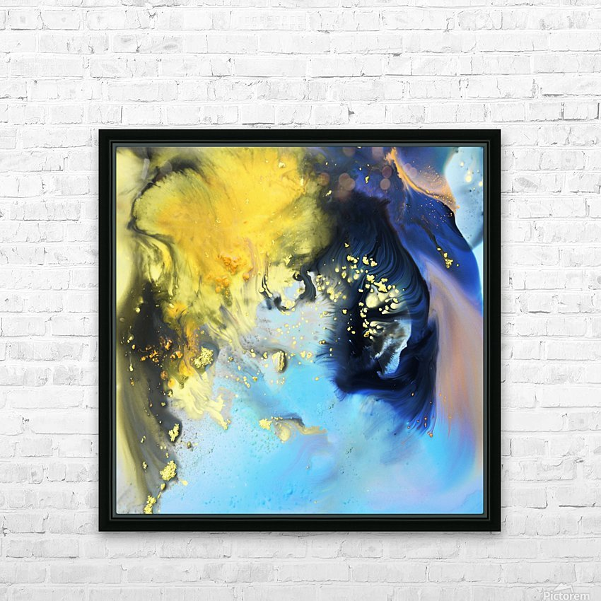 Liquid series 14 HD Sublimation Metal print with Decorating Float Frame (BOX)
