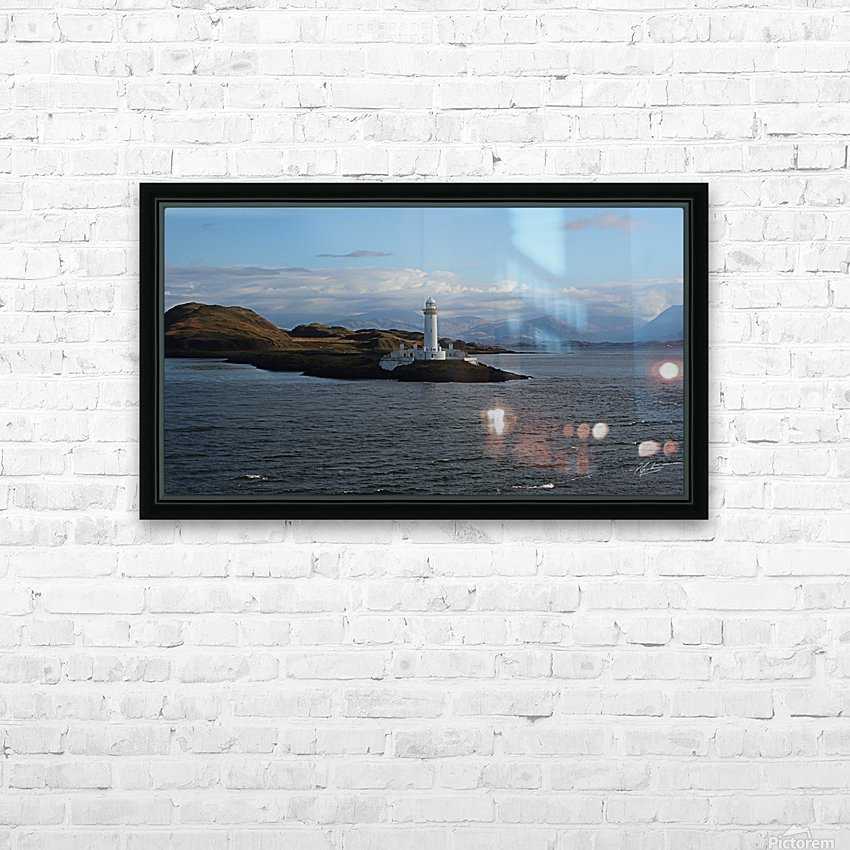 Light House HD Sublimation Metal print with Decorating Float Frame (BOX)