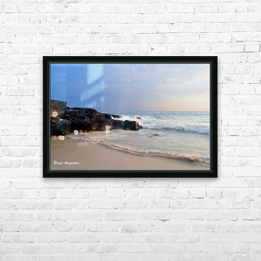 Magic Sands Sunset HD Sublimation Metal print with Decorating Float Frame (BOX)