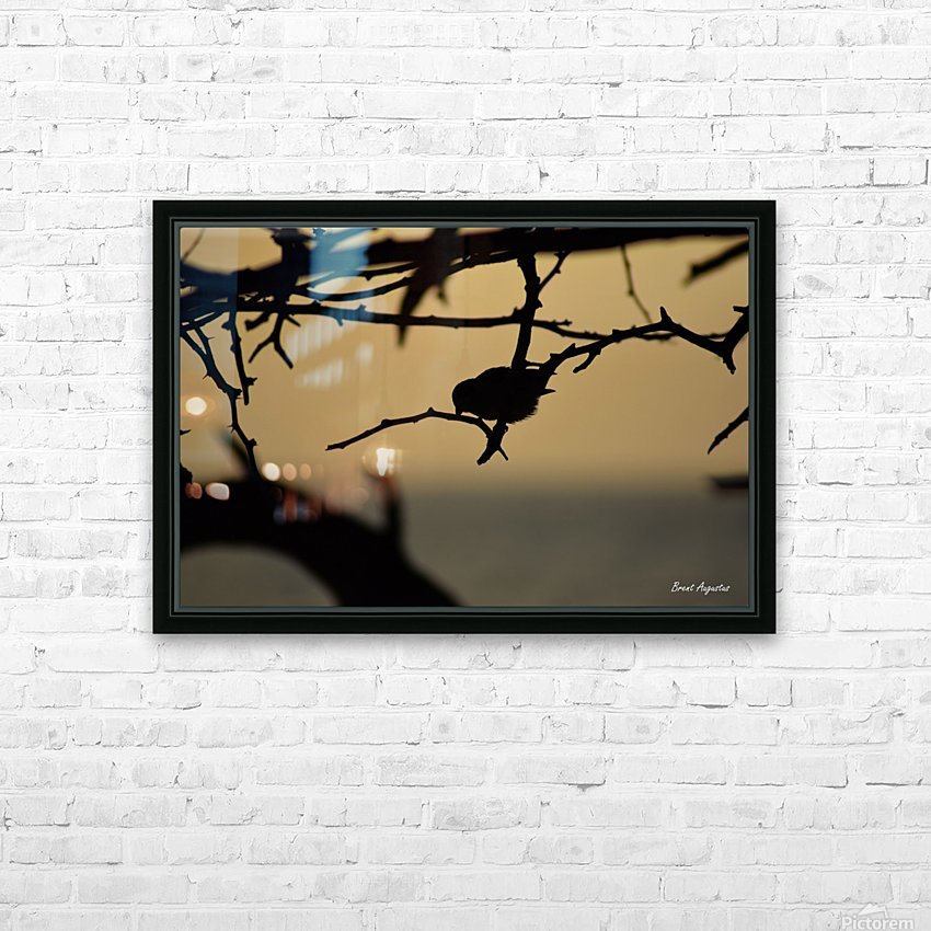 Branch HD Sublimation Metal print with Decorating Float Frame (BOX)