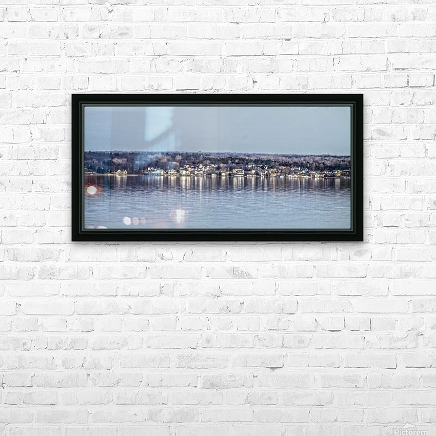 Romulus Panorama HD Sublimation Metal print with Decorating Float Frame (BOX)