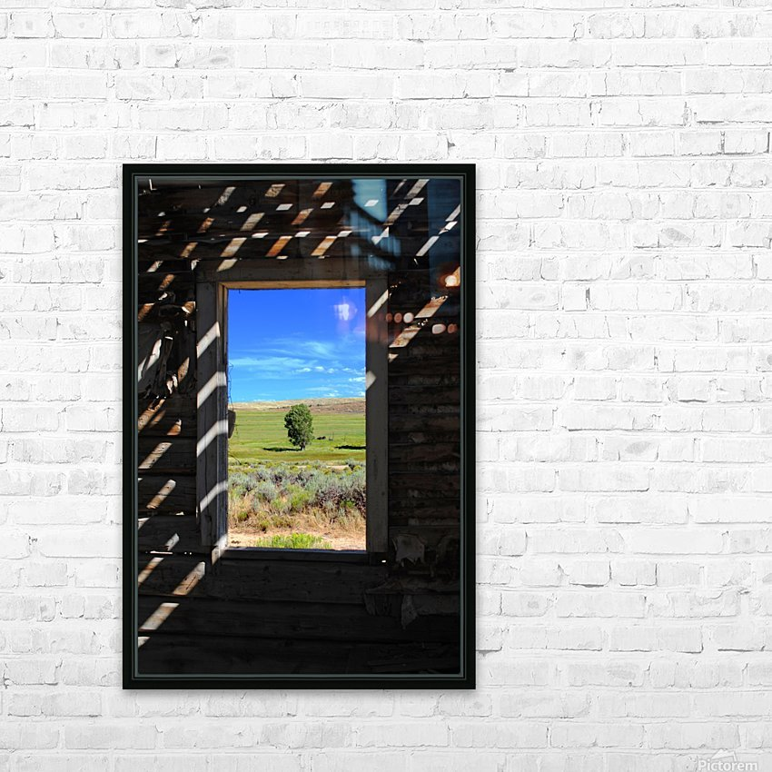 Wild Frontier HD Sublimation Metal print with Decorating Float Frame (BOX)